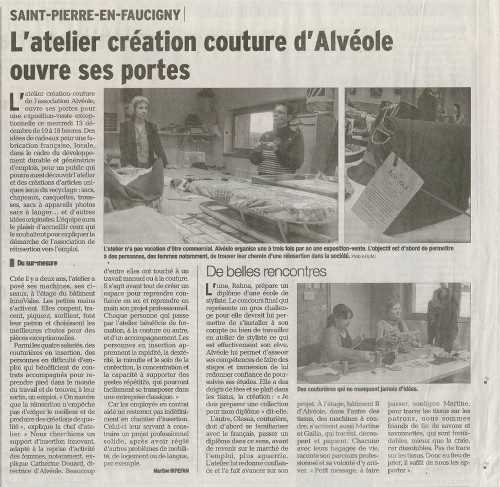 Article de presse DL du 101217