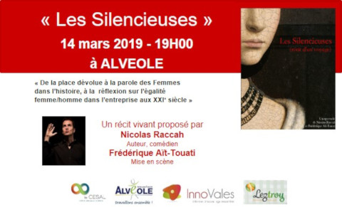 Diapo annonce spectacle Les Silencieuses