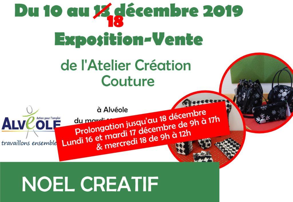 Prolongation de l'exposition-vente des créations Atelier Couture